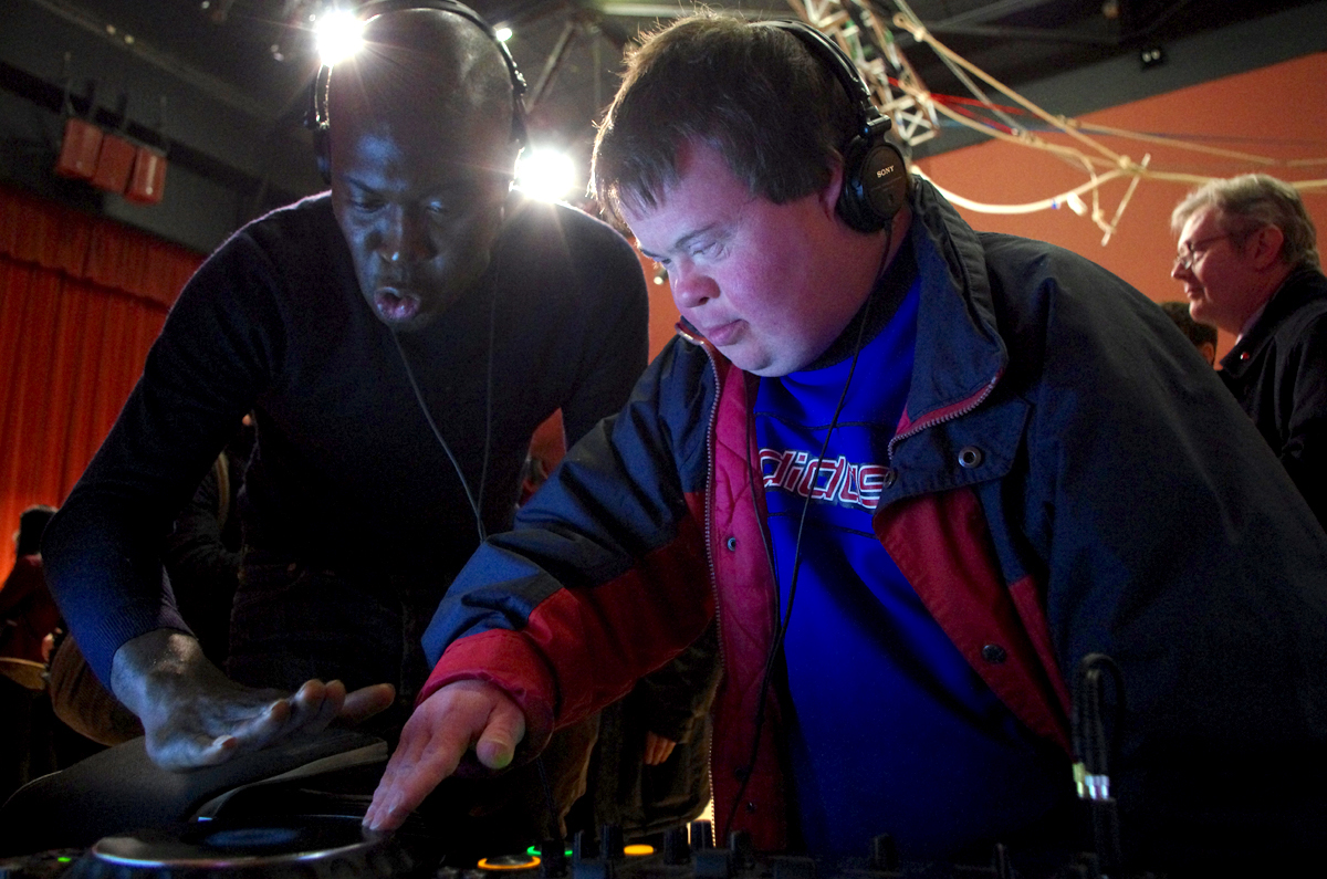 Bounce Culture Mencap Summer Scheme DJing Technology