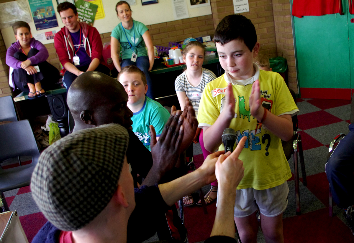 Bounce Culture Mencap Summer Scheme Music Making